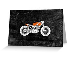 Café Racer – Reverse Greeting Card