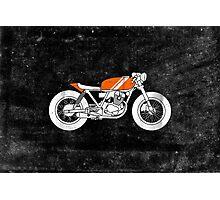 Café Racer – Reverse Photographic Print