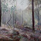 A Wickham Misty Morning by Lynda Robinson