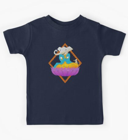 Ganesh on Lotus with Mouse Kids Clothes