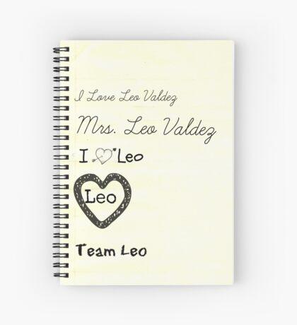 I Love Leo Valdez! Spiral Notebook