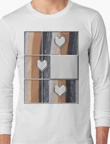 abstract t-shirt design Long Sleeve T-Shirt