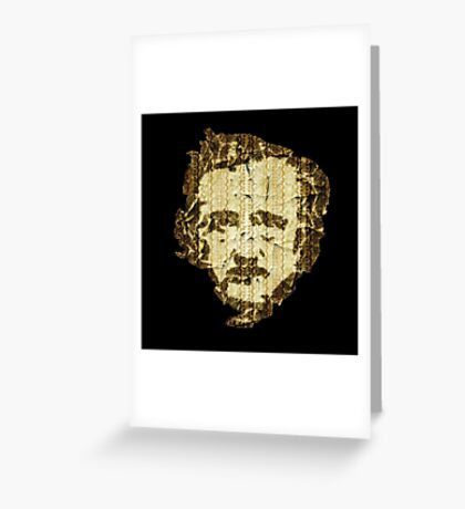 """Quoth the Raven, """"Nevermore.""""  Greeting Card"""