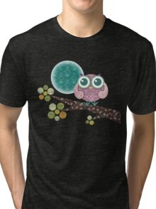 Midnight Owl Tri-blend T-Shirt