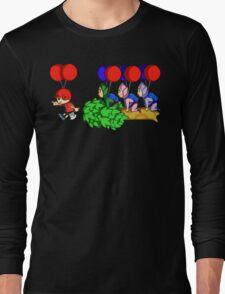 Balloon Fight: Villager Style Long Sleeve T-Shirt