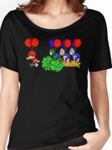 Balloon Fight: Villager Style Women's Relaxed Fit T-Shirt