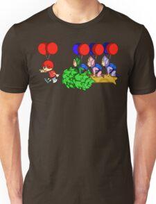 Balloon Fight: Villager Style Unisex T-Shirt