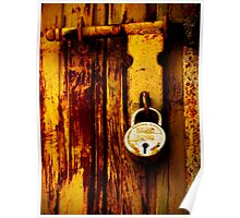 latch and lock Poster