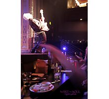 james howard - LIVE! Photographic Print