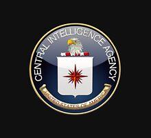 Central Intelligence Agency - CIA Emblem 3D on Black Velvet Unisex T-Shirt