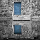 Through the blue door by CTPhotography