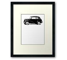 Ford Anglia Tudor Saloon '49-'53 Framed Print