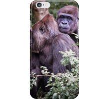 gorilla love iPhone Case/Skin