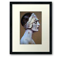 'Sepia Siren' Framed Print