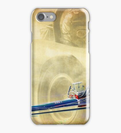 Vintage Dragster iPhone Case/Skin