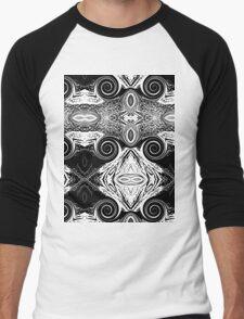 abstract t-shirt design Men's Baseball ¾ T-Shirt