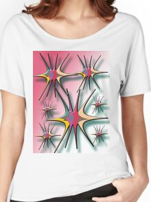 abstract t-shirt design Women's Relaxed Fit T-Shirt