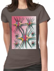 abstract t-shirt design Womens Fitted T-Shirt