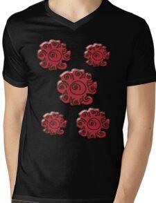 floral t-shirt design Mens V-Neck T-Shirt