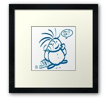 Cookies Kid. What Cookies? Framed Print