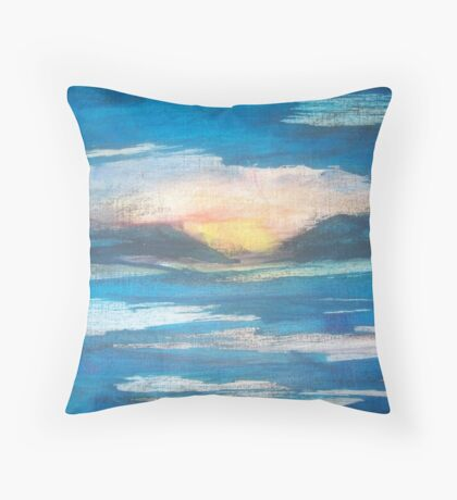 Untitled Four Throw Pillow