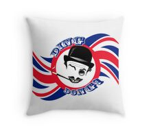 "The Cad's Twirly ""Ding Dong!"" Throw Pillow"