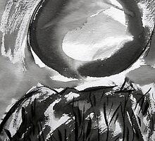 falling moon... by banrai