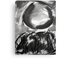 falling moon... Canvas Print