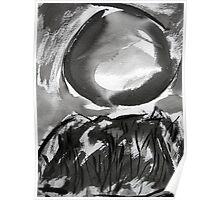 falling moon... Poster