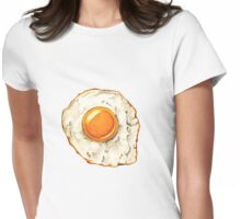 Sunny side up. Womens Fitted T-Shirt