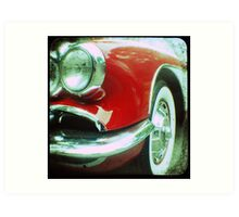 1959 Corvette TTV Art Print