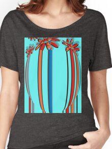 floral t-shirt design Women's Relaxed Fit T-Shirt