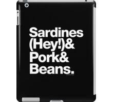 Sardines & Beans Junkyard Chuck Brown Helvetica Ampersand iPad Case/Skin