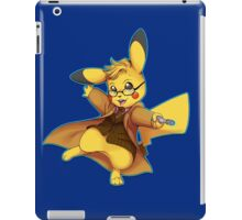 10th Doctor Pika Who? iPad Case/Skin