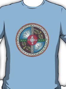 Adventure Awaits Shield T-Shirt