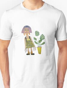 Art Student with a Cheese Plant T-Shirt
