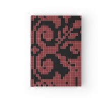 Bleeding Tiled Heart Hardcover Journal