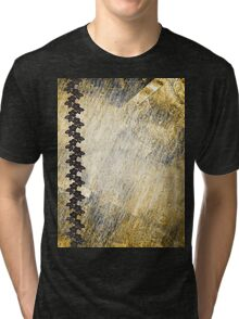 grunge t-shirt design Tri-blend T-Shirt