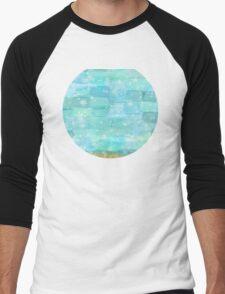 50 shades of Turquoise Men's Baseball ¾ T-Shirt