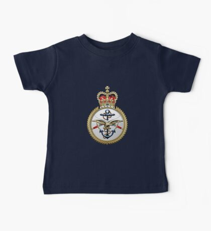 British Armed Forces Emblem 3D Baby Tee