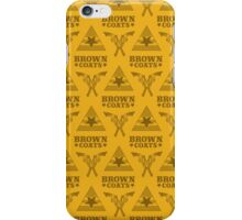 Browncoats forever, Firefly Pattern in Yellow iPhone Case/Skin