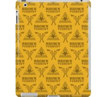 Browncoats forever, Firefly Pattern in Yellow iPad Case/Skin