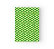 Green Glass Scales Hardcover Journal