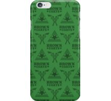 Browncoats forever, Firefly Pattern in Green iPhone Case/Skin