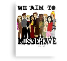 Magically Misbehaved Metal Print