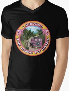 I survived the Road to Hana Mens V-Neck T-Shirt