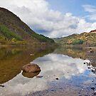 Loch Lubnaig reflections by Shaun Whiteman