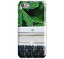 Mac in Green iPhone Case/Skin
