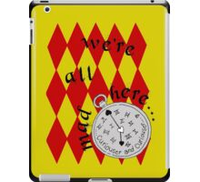 Mad Tea Party iPad Case/Skin