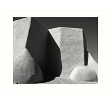 Rear Buttresses of St. Francis Art Print